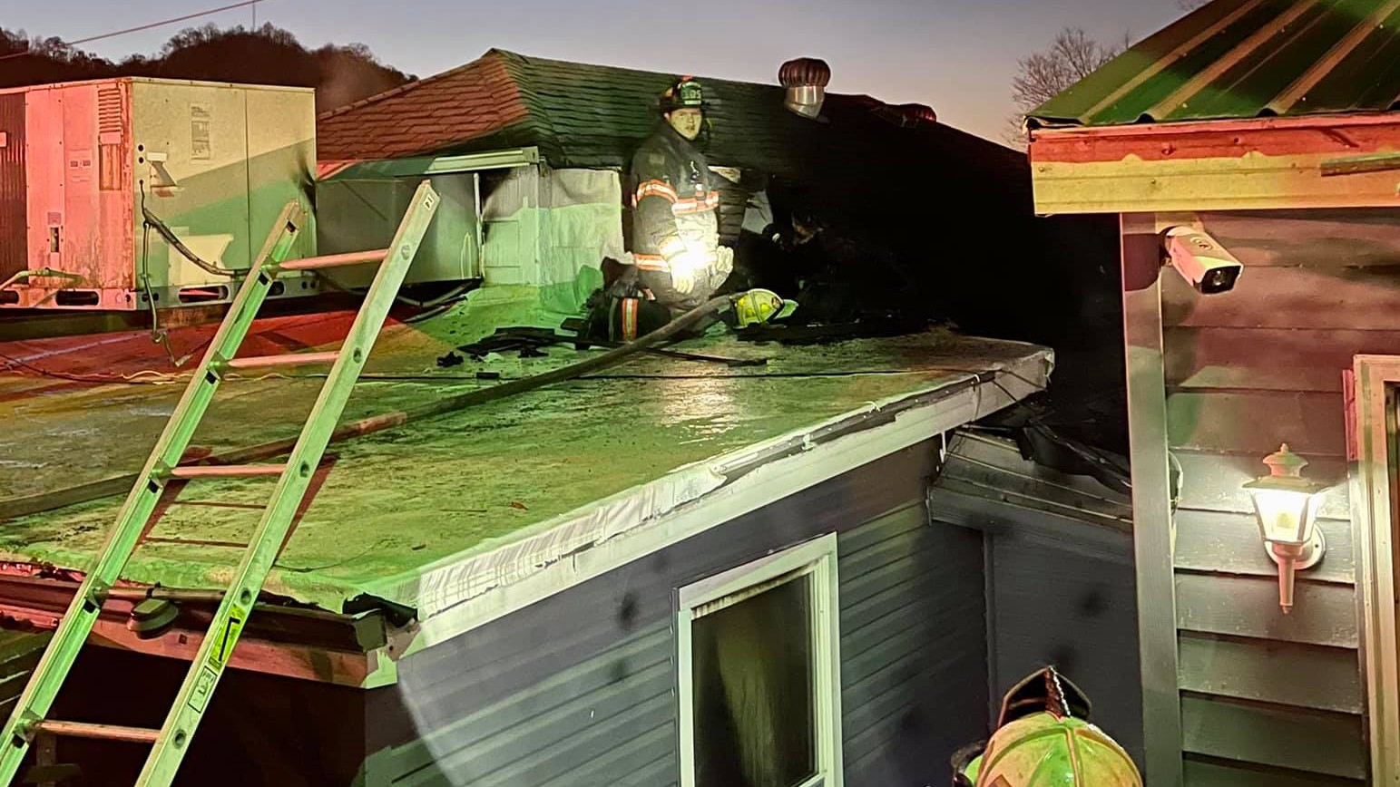 Williamson home damaged in fire