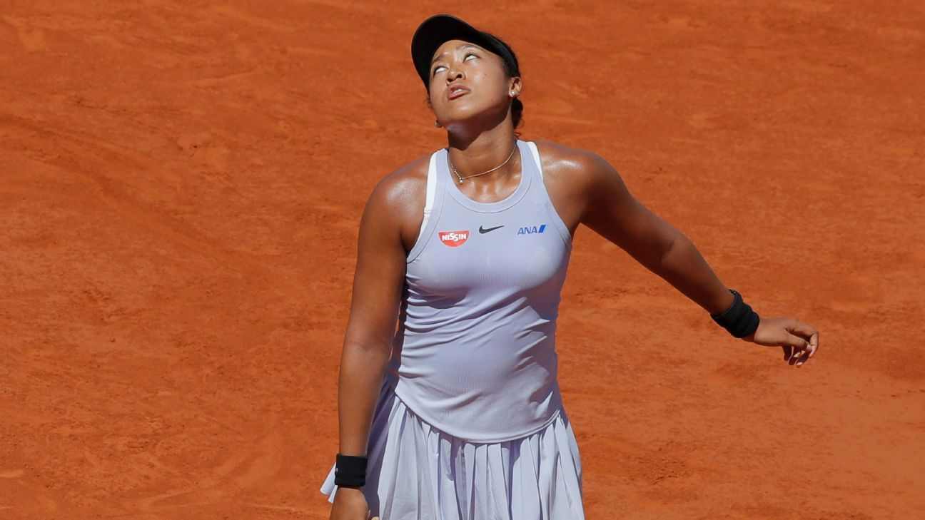 Osaka a no go for French Open, cites hamstring
