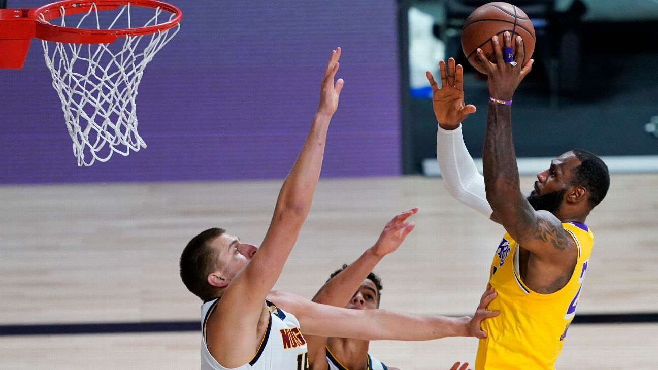 LeBron: Respect for Nuggets 'out of this world'
