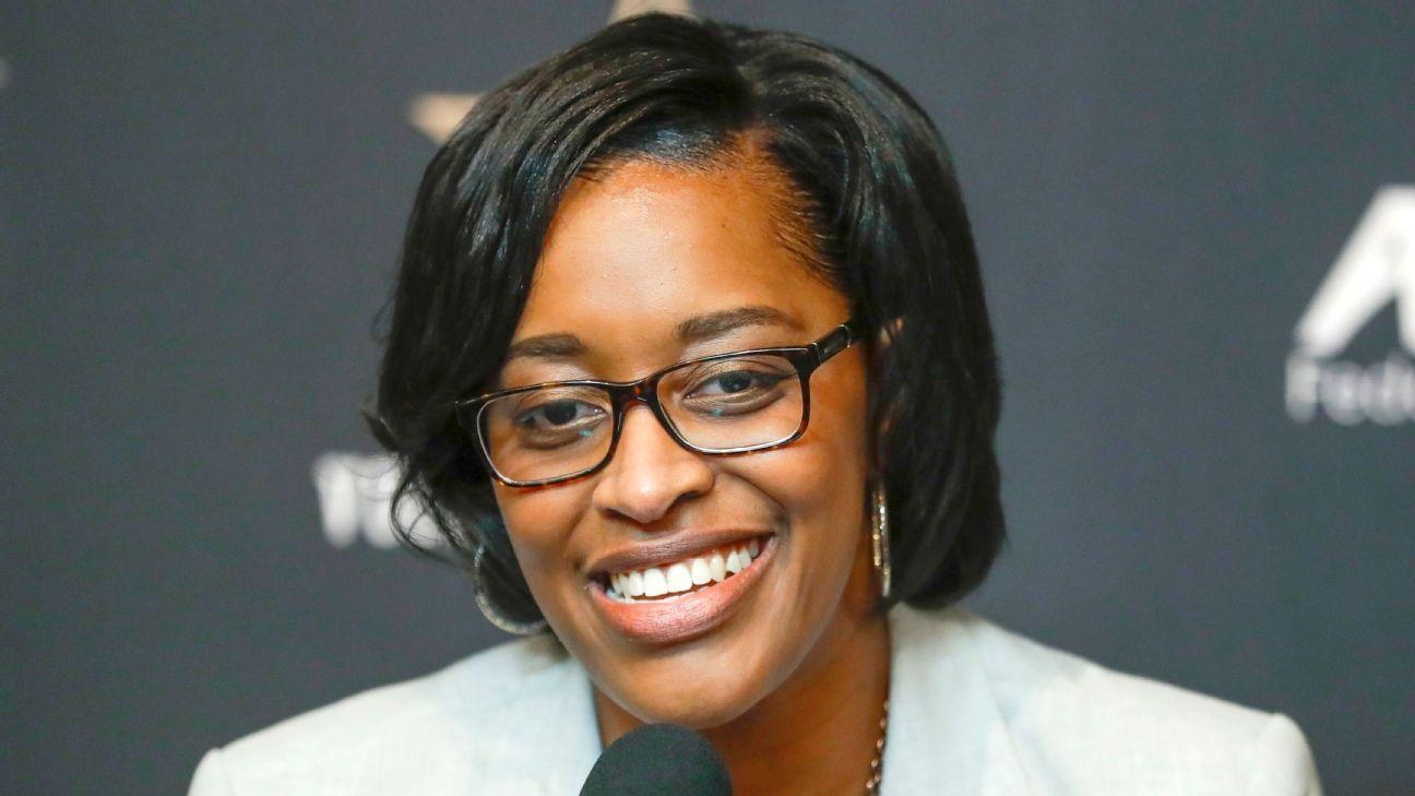 Vandy makes Lee SEC's first female, black AD