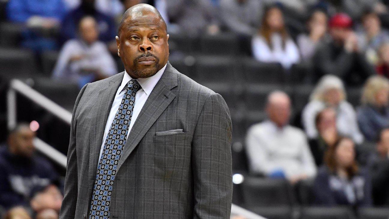 Knicks legend, Hoyas coach Ewing tests positive