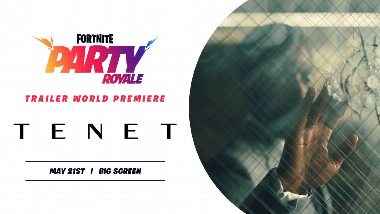 Fortnite presents 'Tenet' trailer, to screen Nolan film this summer