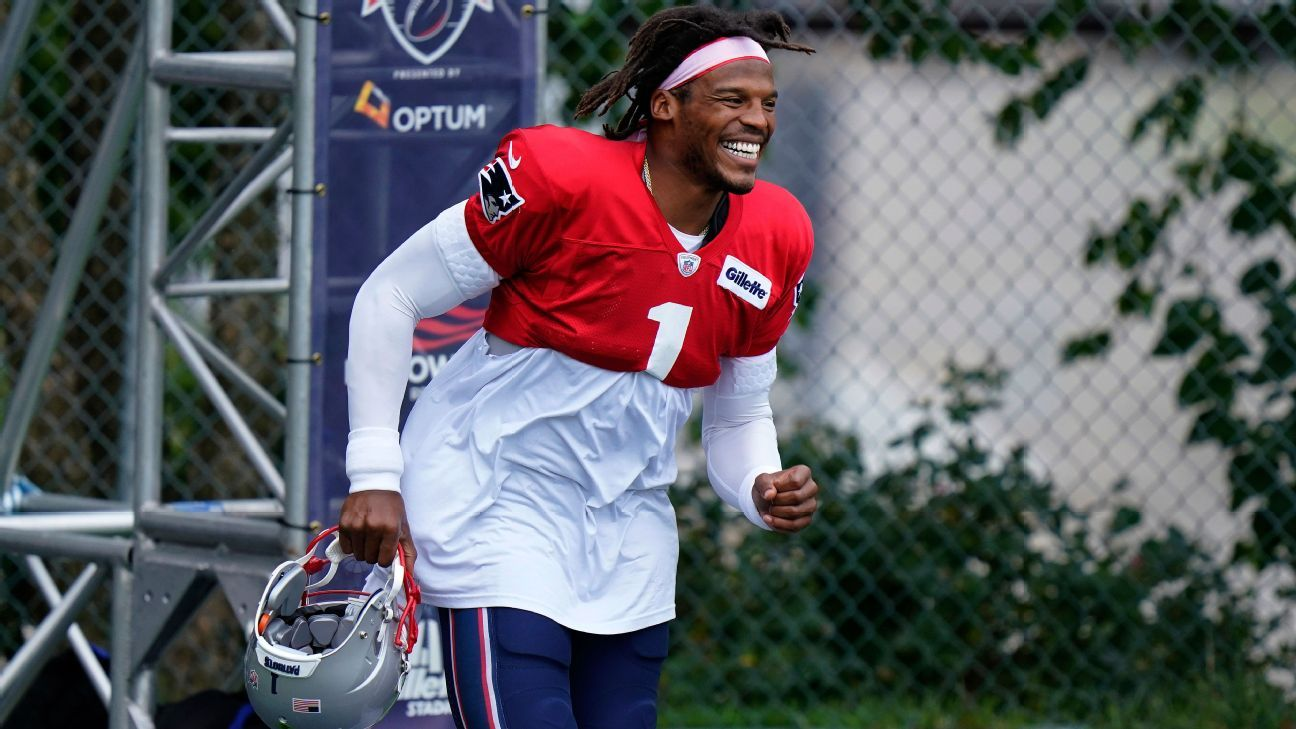 Captain Cam: 'Real work' with Patriots starts now
