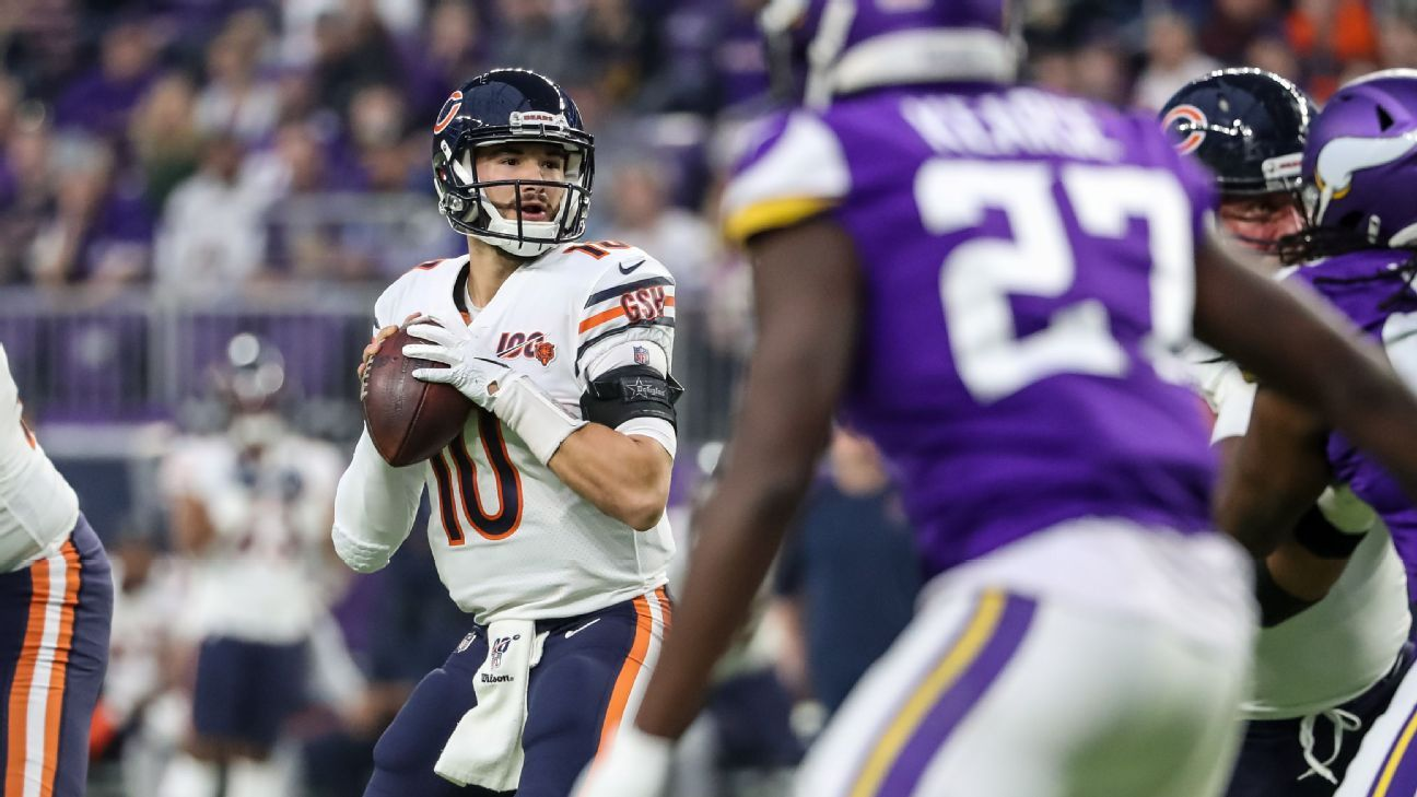 Source: Bears expected to start Trubisky at QB
