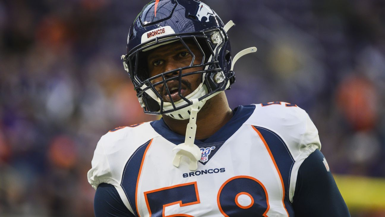 Sources: Broncos' Miller (ankle) may miss season