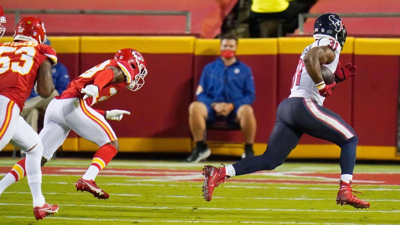Texans' David Johnson quiets trade critics with first TD of NFL season