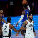 LeBron, dominant Lakers rout Rockets to advance