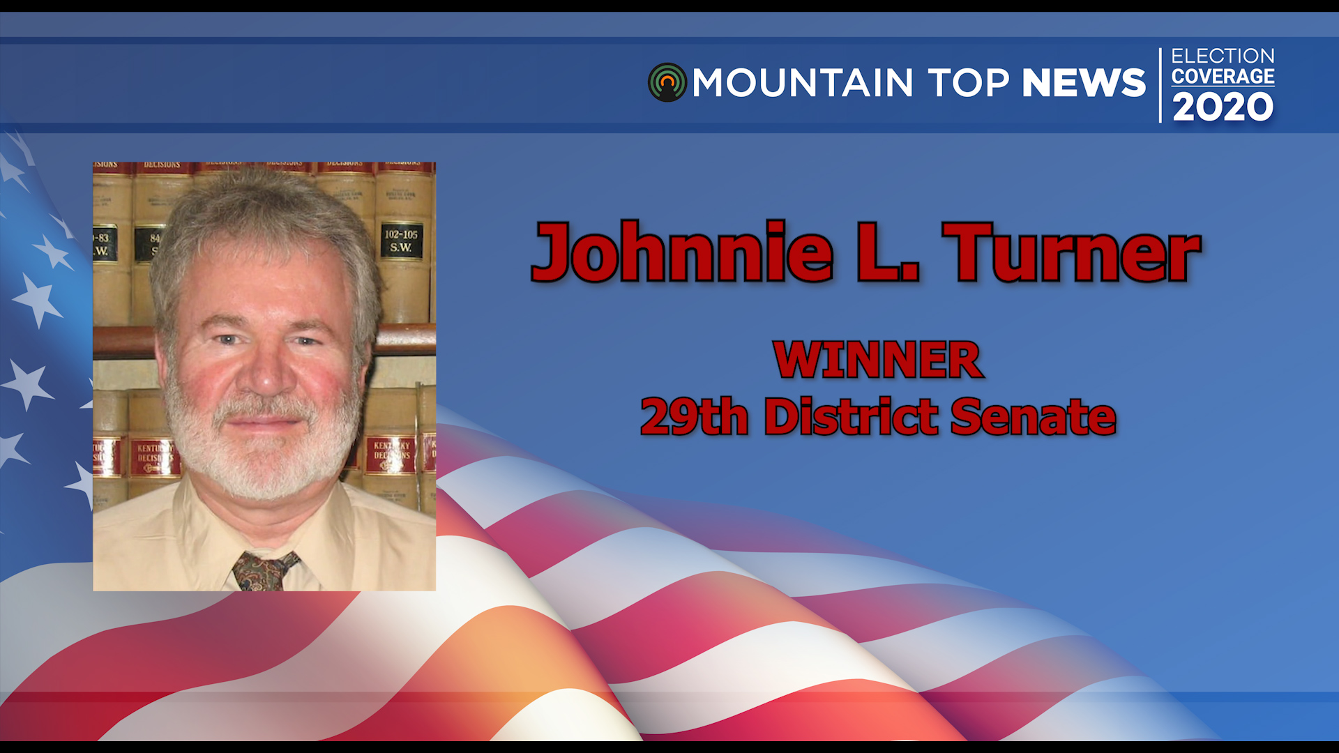 Challenger Turner defeats incumbent Turner