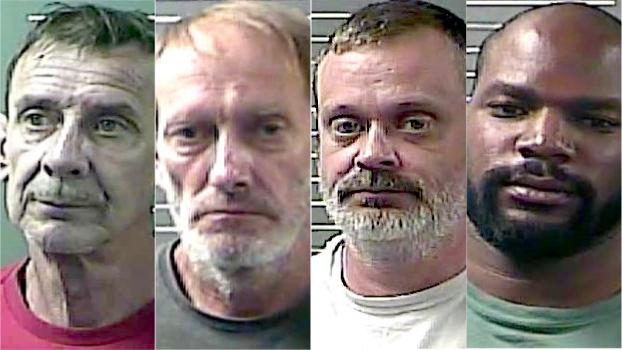David Ferguson, Ricky Vance, John Loudon and Robert Harley