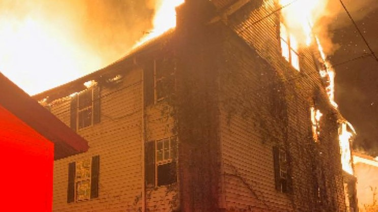 Info sought in abandoned building fire