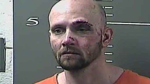 Suspect rams police while fleeing, ends up in river