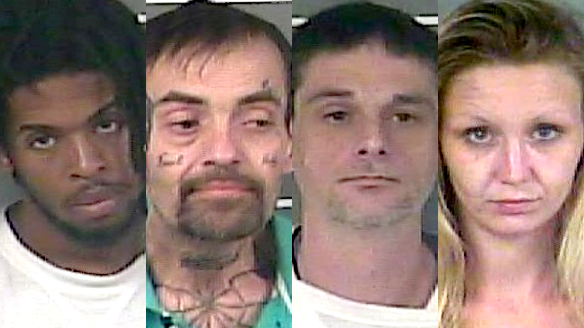 Ivory Dean, Lonnie Thacker, John Wright and Lona Spradlin are scheduled for trial next month.