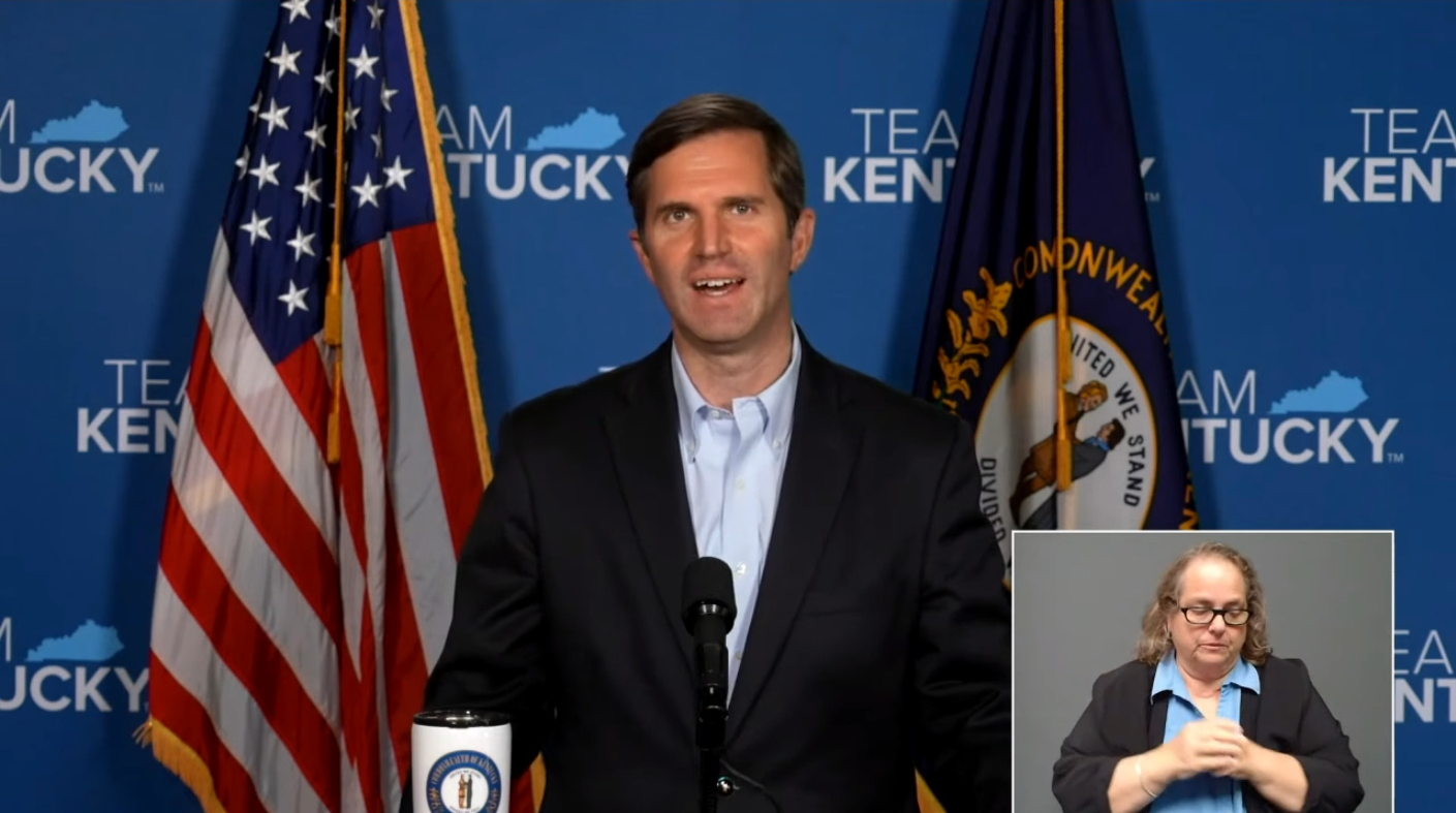 Beshear relaxes outdoor mask mandate