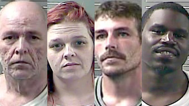 Four charged in federal meth indictment