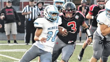 HIGH SCHOOL FOOTBALL: Miners no match for Big Blacks in road loss