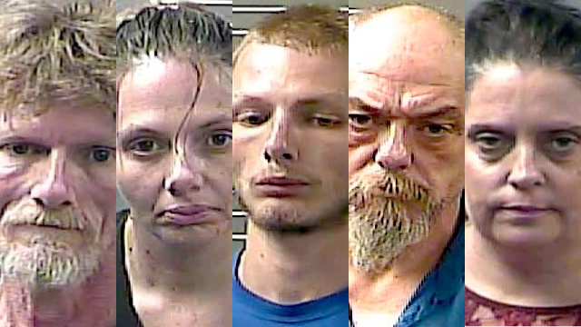 Five Lawrence County residents face organized crime charges
