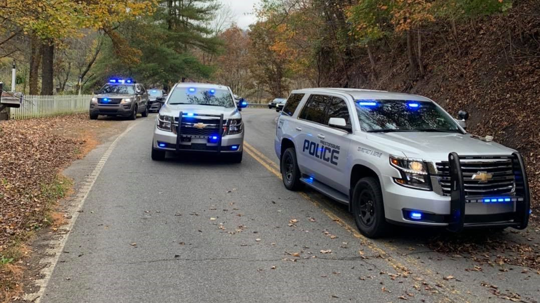 Man arrested after chase through two counties