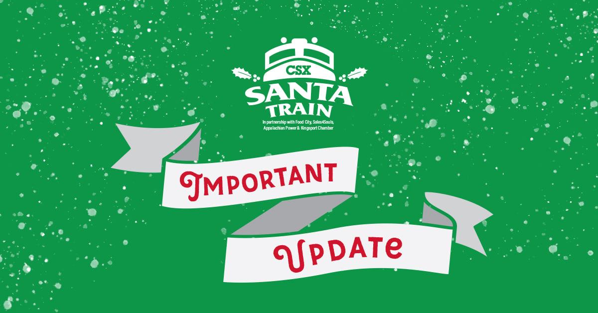 Santa Train to once again be drive-thru event