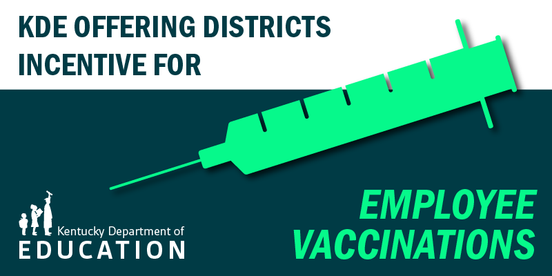 Vaccinated school employees to get incentive payment