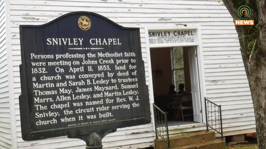 Historic church hosts homecoming