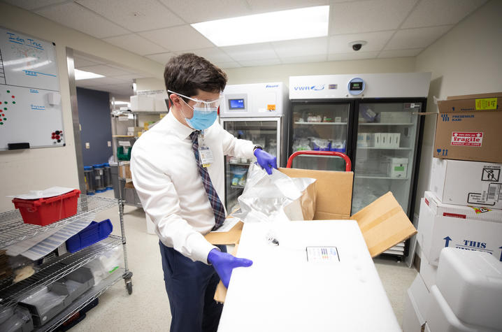 UK takes part in test of vaccine delivery system